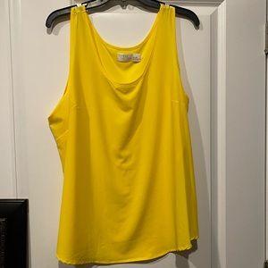 XXL Women's Yellow Tank